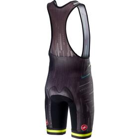 Castelli Tabularasa Short de cyclisme Homme, multicolor/black/yellow fluo
